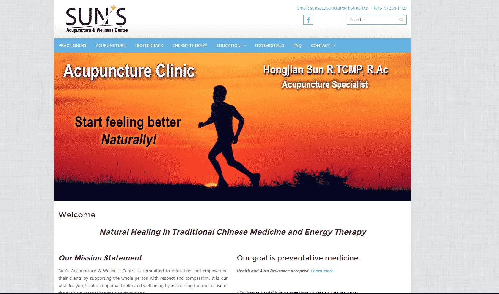 Sun's Acupuncture website