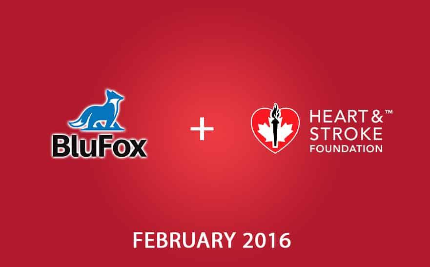 Helping out the Heart and Stroke Foundation